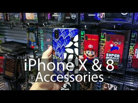 iPhone X & 8 Accessories Available on ShenZhen Huaqiangbei Electronics Market Right Now