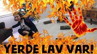 YERDE LAV VAR CHARLIFELEK CHALLENGE! LAV DOLU OKYANUSTA EN ÜNLÜ ADALARA SIĞINDIK! Bidünya Oyuncak