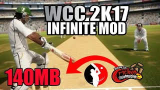DOWNLOAD WCC 2K17 INFINITE MOD IN 140MB APK+OBB DATA FOR ANDROID!!: WCC 2 LATEST HACKED MONEY