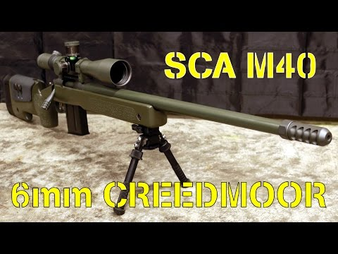 M40 Precision Rifle in 6mm Creedmoor