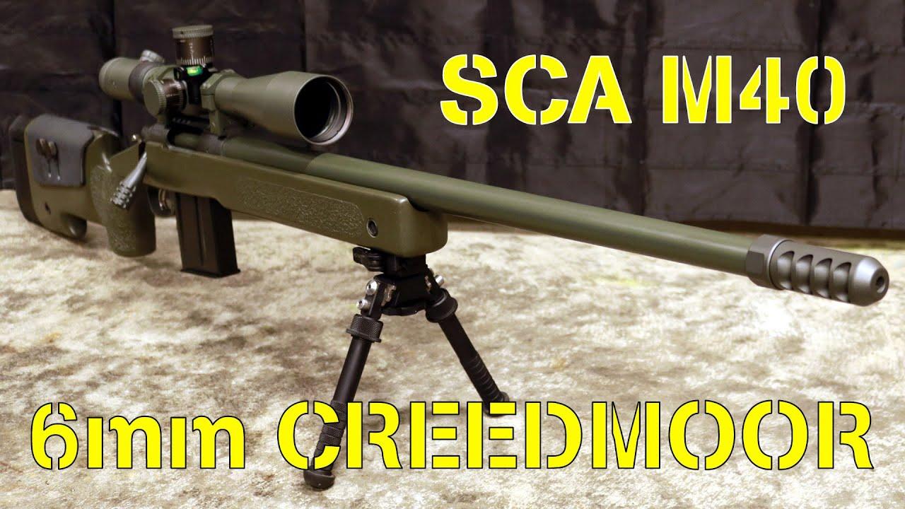 M40 Precision Rifle in 6mm Creedmoor