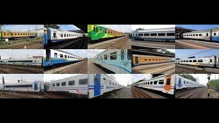 Kompilasi Kereta Api : Warna Warni Kereta Api Indonesia dari tahun 2007 - 2015