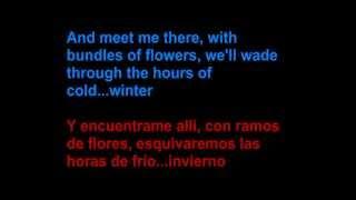 Ben Howard - Promise - Letra en español y en inglés en la pantalla