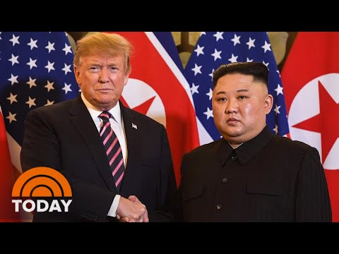 President Donald Trump And Kim Jong Un's 2nd Summit Underway In Vietnam | TODAY