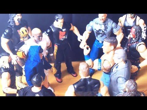 John Cena vs. Rocky Balboa - Boxing Fight: Action Figure Stop Motion