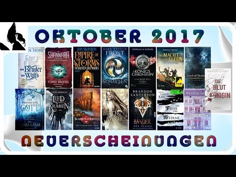 Fantasy Neuerscheinungen Oktober 2017   Leseritter