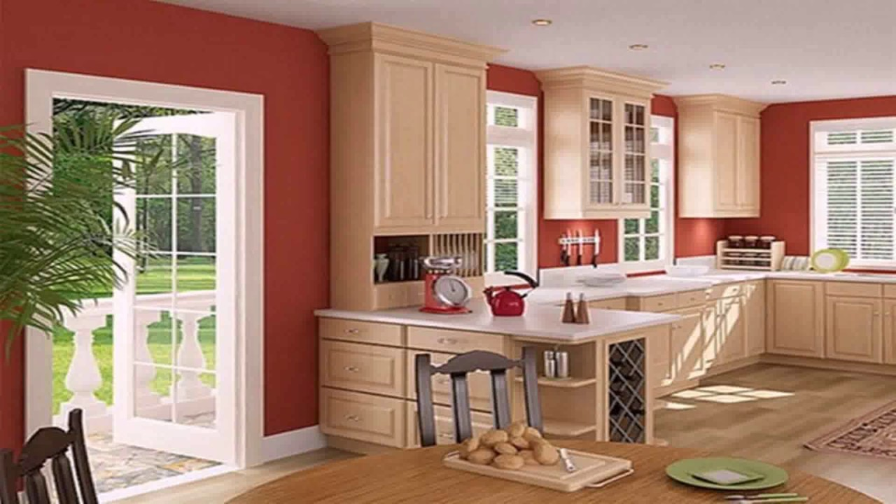 House design inside kitchen simple youtube for Simple interior designs for small house
