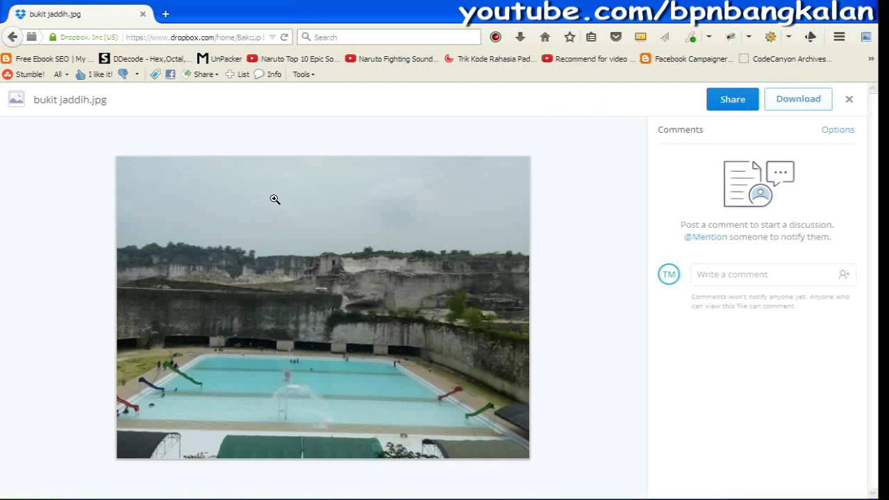 Tutorial Bagaimana Cara Menggunakan Dropbox Dengan Mudah Youtube