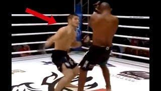 Khabib Nurmagomedov's Weird Power Punch In MMA