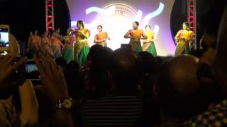 Karnataka folk dance - 2016 San Antonio city Diwali