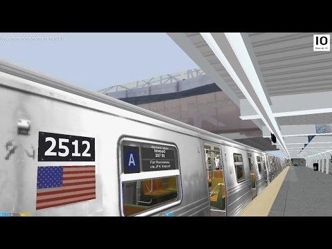 OpenBVE : (A) to FAR ROCKAWAY via 8th Ave Express