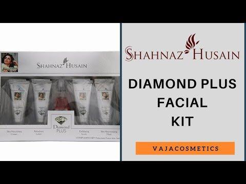 Shahnaz Husain Diamond Plus Facial Kit Review In Hindi   Unboxing