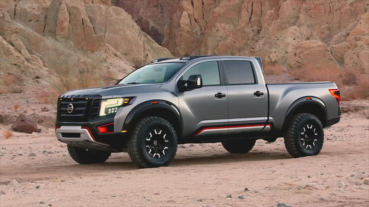 Detroit 2016 Nissan Titan Warrior Concept YouTube