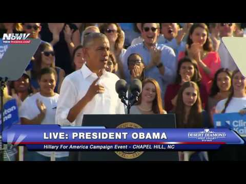 FULL SPEECH: President Barack Obama Campaigns for Hillary Clinton in Chapel Hill, NC - FNN
