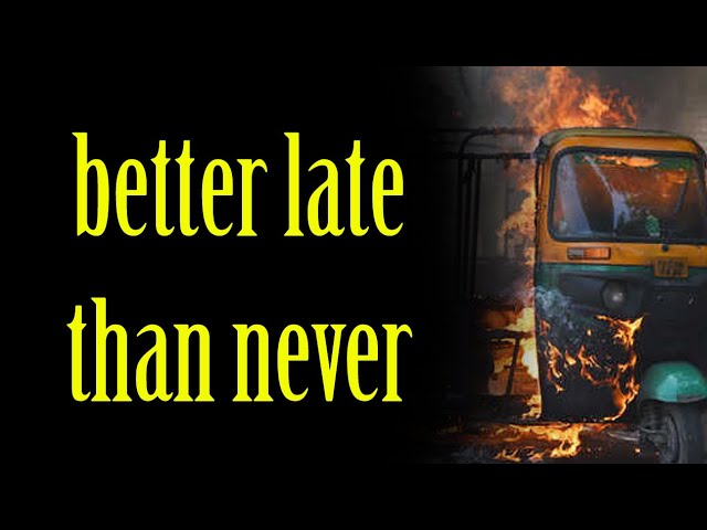 Better Late Than Never  |  Thrilling Video