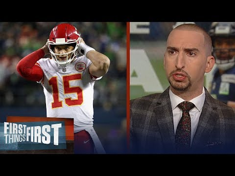 Nick Wright reacts to Mahomes, Chiefs' Week 16 loss to the Seahawks | NFL | FIRST THINGS FIRST