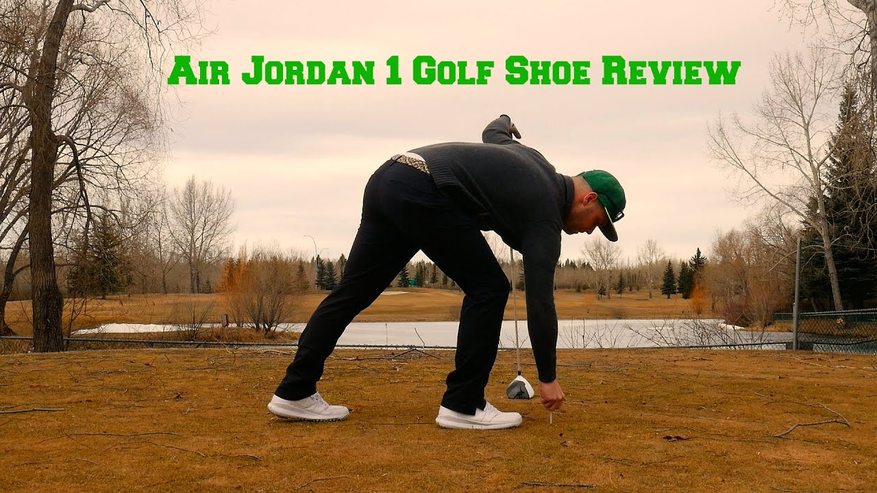e6a041362 Air Jordan 1 Golf Shoes Review - YouTube