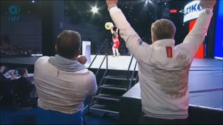 Russia has broken Iranian All Time Record - Olympic Weightlifting 2015