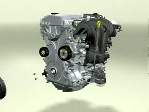Motor Ford Duratec He Despiece 3d 4t Car Engine Work