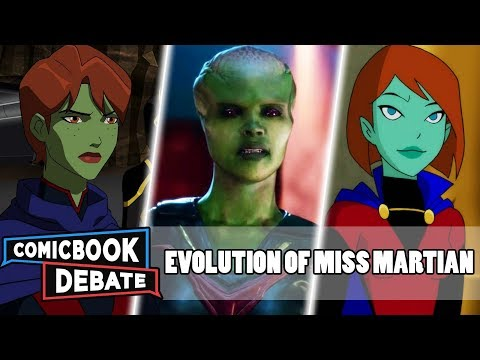 Evolution Of Miss Martian In Cartoons, Movies & TV In 5 Minutes (2019)