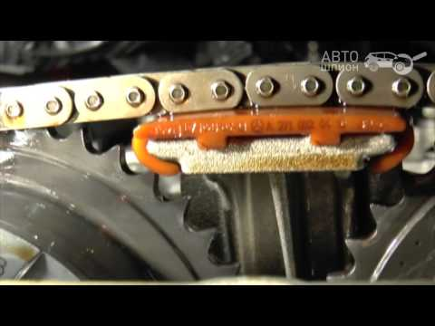 Проверка цепи ГРМ M271 Mercedes Benz C200K W203. Инструкция