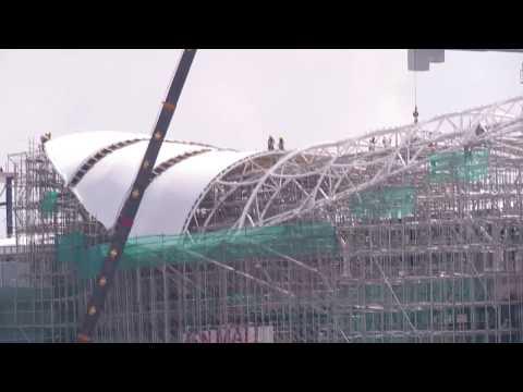 AEON MALL II UNDER CONSTRUCTION# CAMBODIA SUPPER MARKET