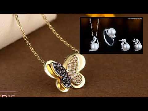 gold chains jewellery designs dubai/ gold chains jewellery designs earrings fashion jewellery