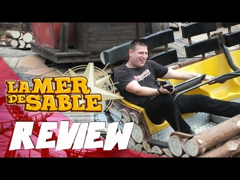 Themepark review: La Mer de Sable (ENGLISH)