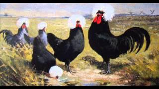 Czubatka Polska w malarstwie
