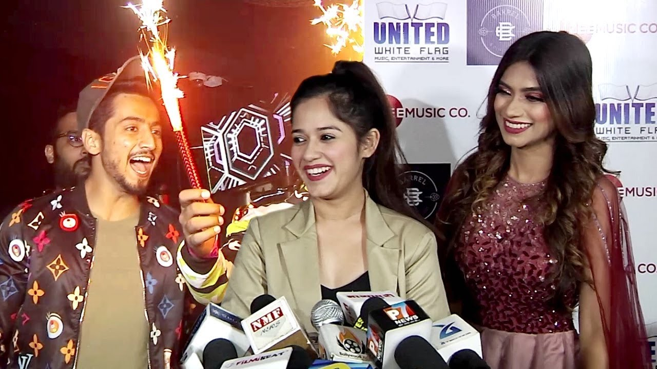 Jannat Zubair And Faisu Team 07 At Awez And Nagma New Song Launch