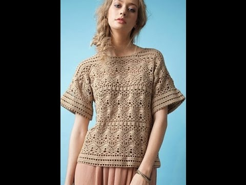 Crochet Patterns For Free Crochet Tops Patterns 1275 Youtube