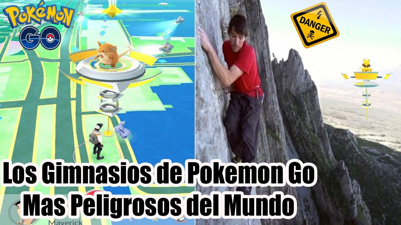 Los gimnasios de pokemon go mas peligrosos del mundo youtube for Gimnasio 9 de julio