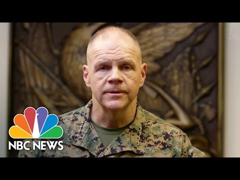 Marine Corps Statement On Nude Photo Scandal | NBC News