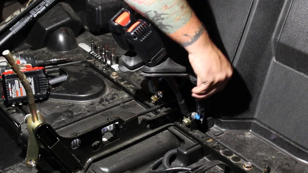 RZR 900 & 1000 seat belt bypass install  YouTube