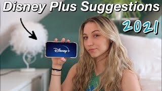 DISNEY PLUS RECOMMENDATIONS *you must watch* (Throwbacks) 2021
