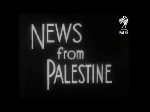 Illegal Jewish immigrants arriving in Palestine