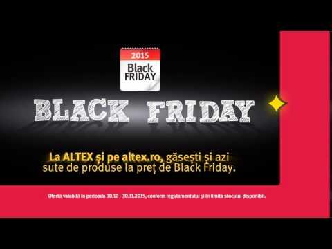 A început cea mai lungă zi - Black Friday pe altex.ro
