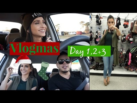Vlogmas Day 1,2+3 ⎮Car Chronicles, Always Eating, Need to Pop Fighting with Him