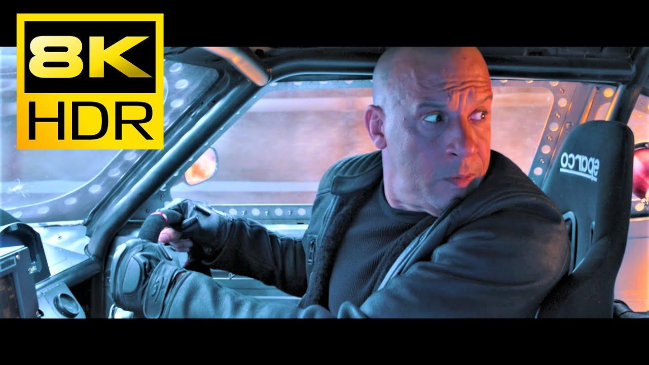 8K HDR ● Vin Diesel Chase (F8) ● DTS X