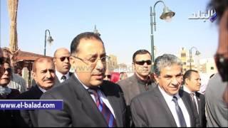بالفيديو والصور.. خالد فهمى يفتتح المركز الثقافى البيئى ضمن مشروع المدينة الخضراء بالشيخ زايد