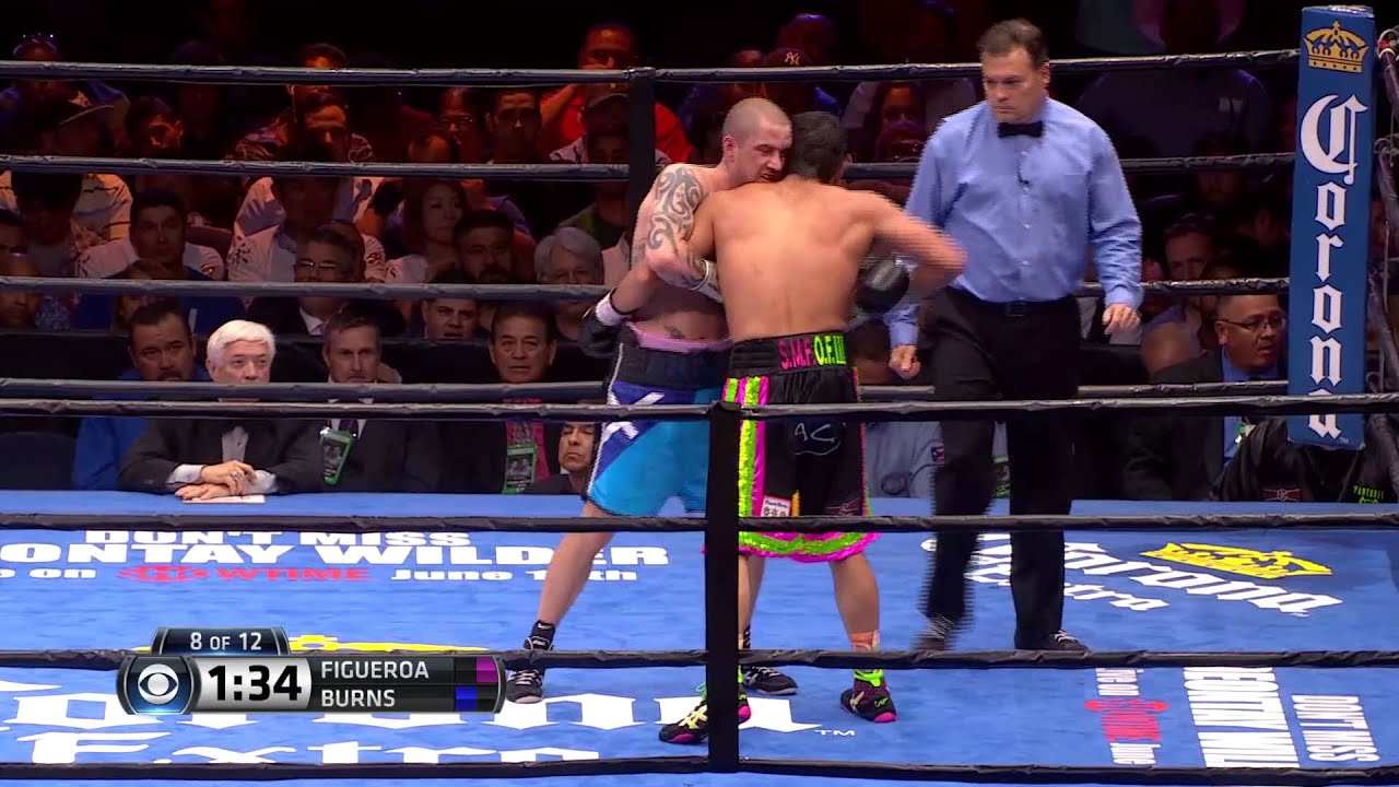 FULL FIGHT: Omar Figueroa Jr. vs Ricky Burns - 5/9/2015 - PBC on CBS