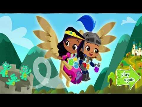 Race Through Dragon Tower - One Good Knight Games - Nick Jr |