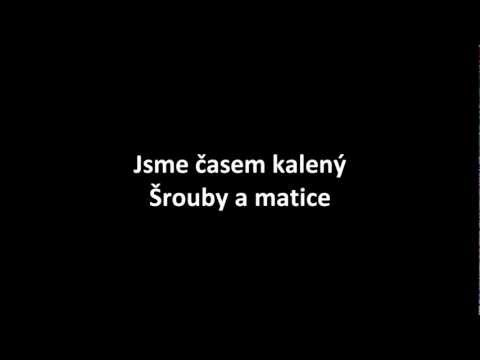 Mandrage - Šrouby a matice (oficiální lyrics video)