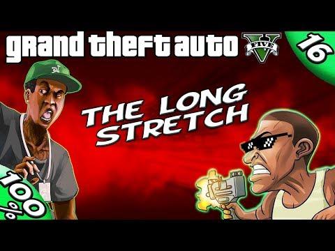 GTA V - THE LONG STRETCH [100% GOLD Walkthrough]