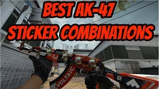 CSGO | BEST AK-47-AUFKLEBER-KOMBINATIONEN (Team-Sticker) + Verlosung