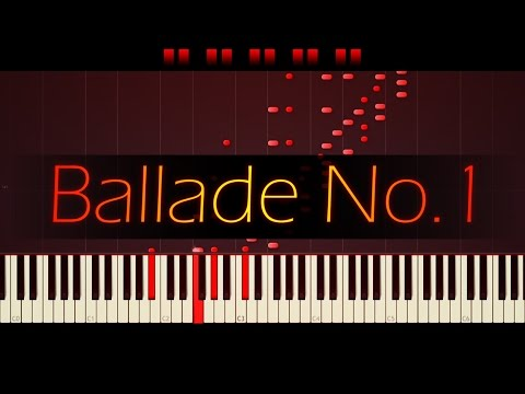 Ballade No. 1 in G minor, Op. 23 // CHOPIN