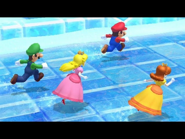 Mario Party 10 - All Racing Minigames