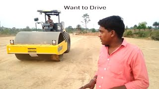 How to Drive Soil Compaction || Roller || ( Step by Step ) with Karunesh & Mukesh Rawani