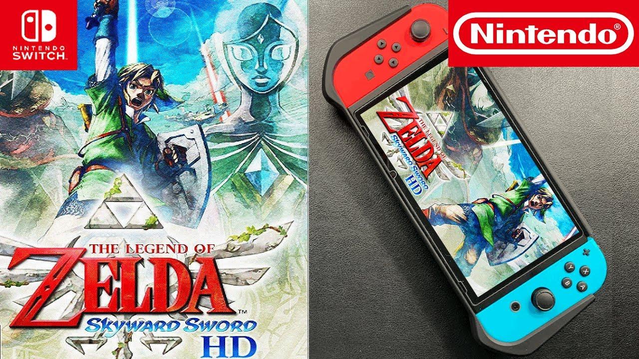 The Legend of Zelda: Skyward Sword HD - Nintendo Switch   Unboxing and Gameplay