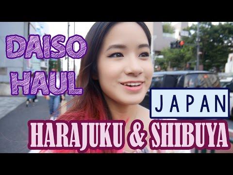 Daiso 100 Yen Haul | Shop in Harajuku & Shibuya | KimDao in JAPAN